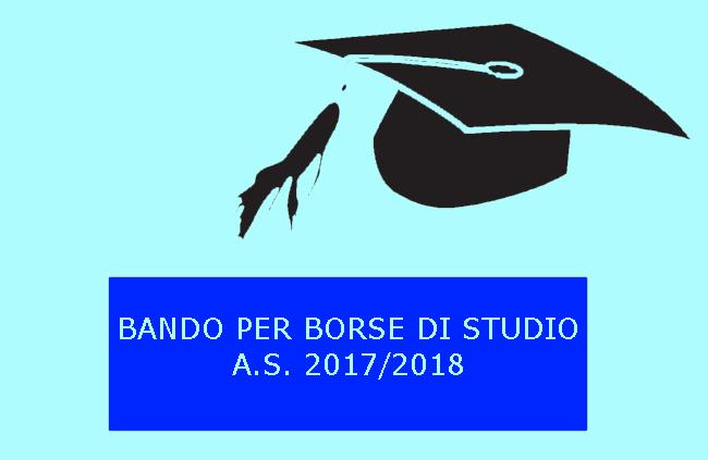 Bando per l'assegnazione delle Borse di studio A.S. 2017/2018