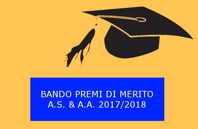 Bando per l'assegnazione dei Premi per il merito A.S. e A.A. 2017/2018