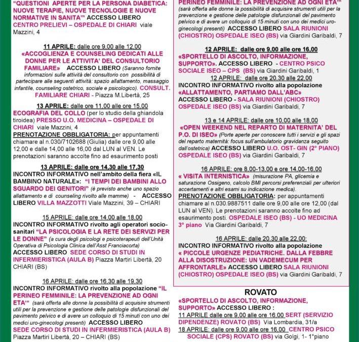 H-Open Week, prevenzione e cura delle patologie femminili