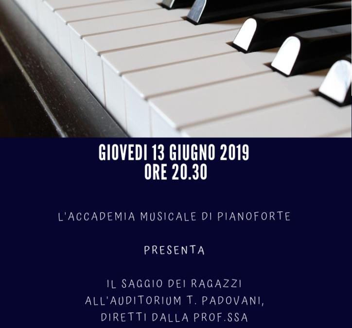 Concerto dell'Accademia musicale di pianoforte