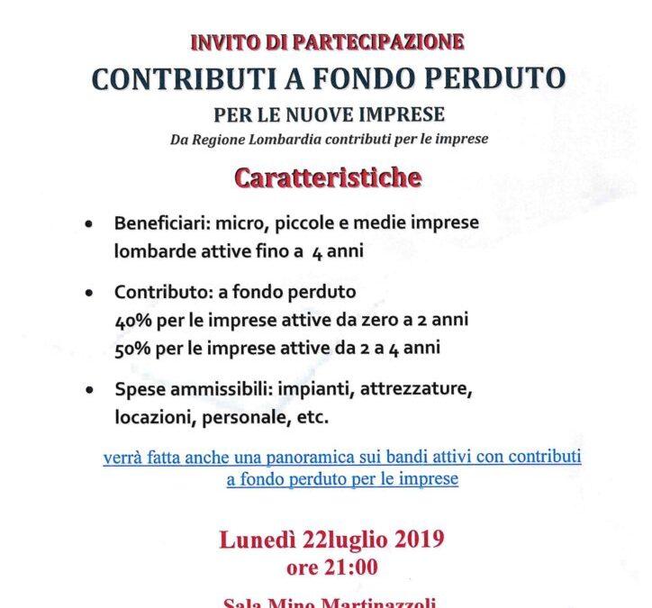 Incontro Confesercenti, 22 Luglio 2019