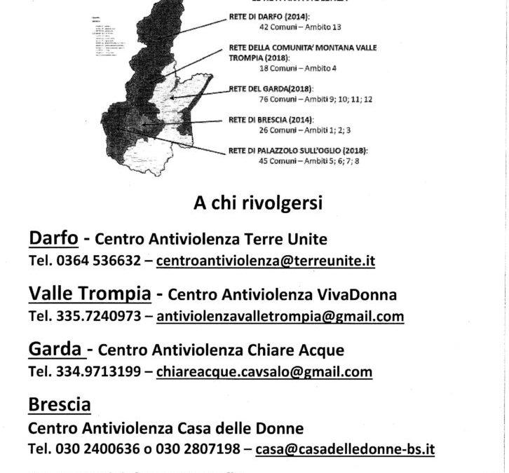 Centri anti-violenza territoriali