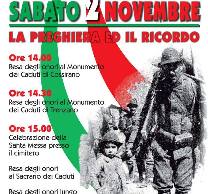 Commemorazione del IV Novembre