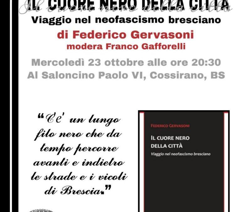 """Presentazione del libro """"Il cuore nero della città"""""""