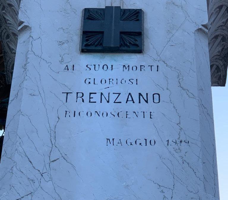 Comunicazione istituzionale per il centenario del Monumento in onore ai Caduti di Trenzano
