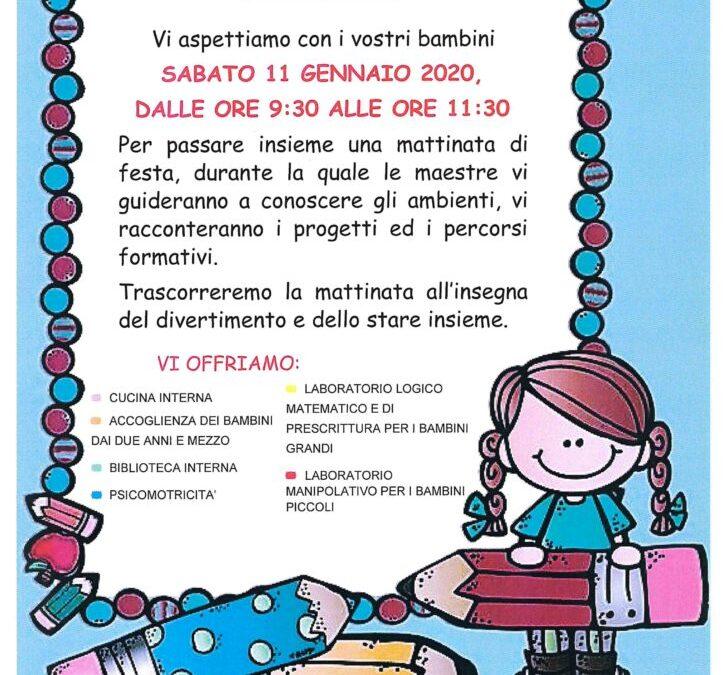 Open Day delle Scuole dell'infanzia