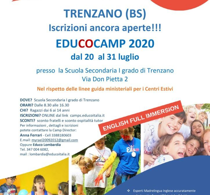EDUCO Camp Estate 2020