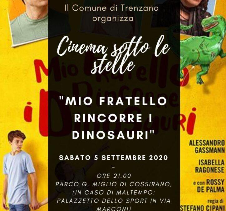Cinema sotto le stelle: Mio fratello rincorre i dinosauri
