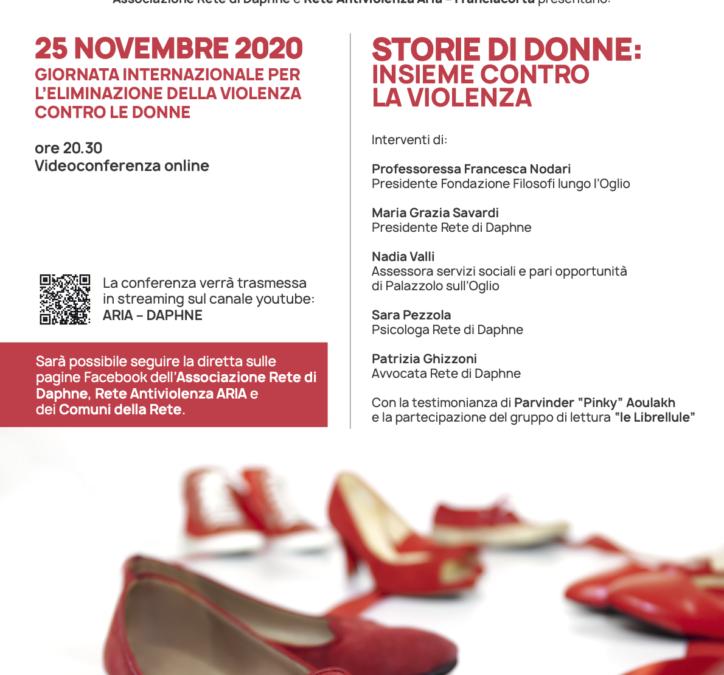 25 Novembre: Giornata per l'eliminazione della violenza contro le donne