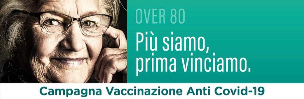 Modulistica per vaccinazioni anti-covid19 Over80