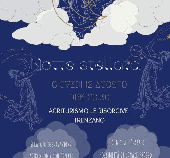Notte Stellata all'Agriturismo Le Risorgive